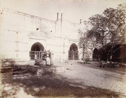 General view of the Jami Masjid, Mandal